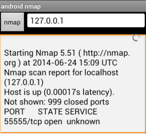 Nmap android hacking app (Network Mapper)