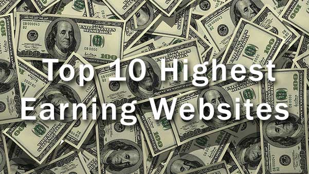 Top paying websites