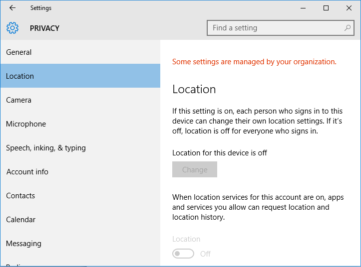Fix Some Settings Are Managed By Your Organization In