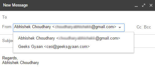 secondary email account