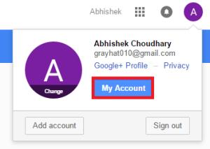 select accounts