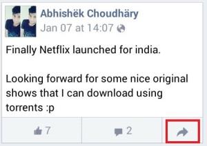 share status