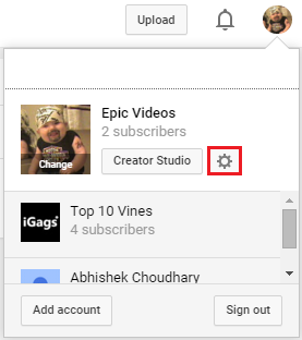 How To Change Your Youtube Channel Name Geeks Gyaan