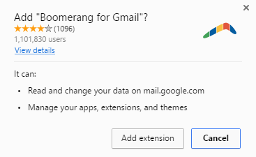 add Boomerang to your browser