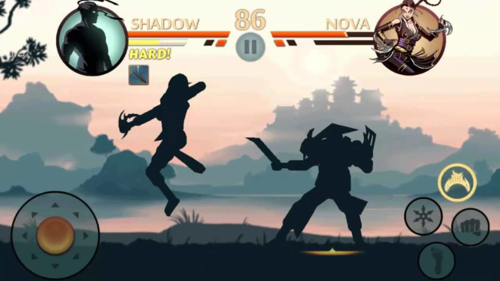shadow fight - best offfline android game