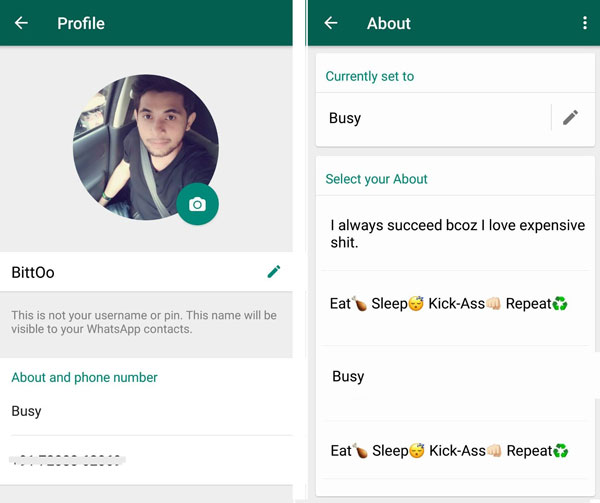 how to change whatsapp number without old number