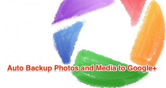 Google Plus trick to backup photos