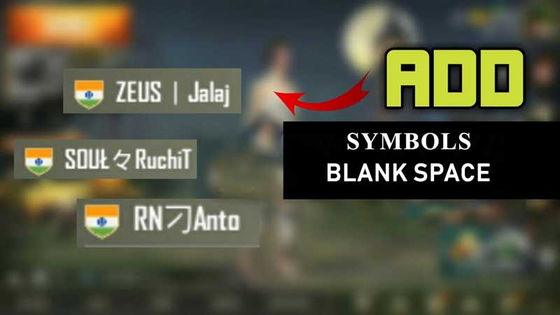 Pubg Mobile Username Symbols For Clan Name All Working Geeks Gyaan