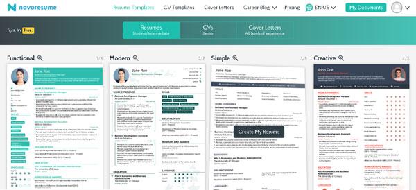 Best Online Resume Builder Create Your Perfect Resume Online
