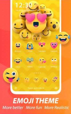 emoji c launcher theme