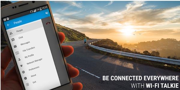 Talkie WiFi Messaging App