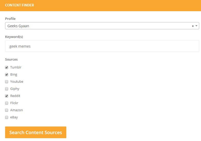 Content-Finder