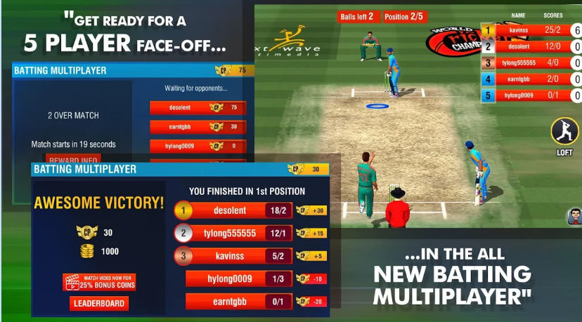 Best Offline Cricket Games for Android