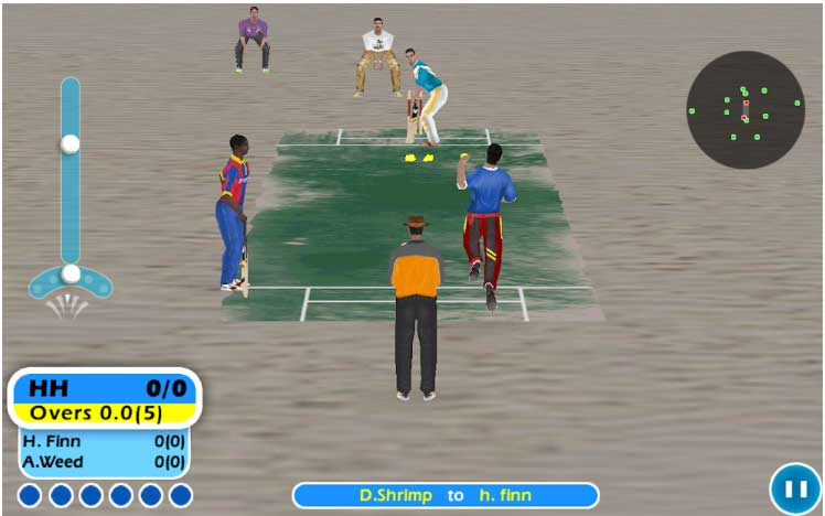 offline cricket game for android-beach-cricket