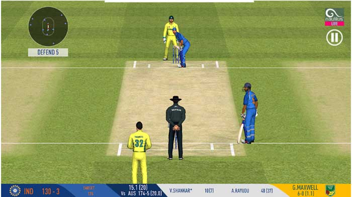 best offline cricket game-real-cricket-19