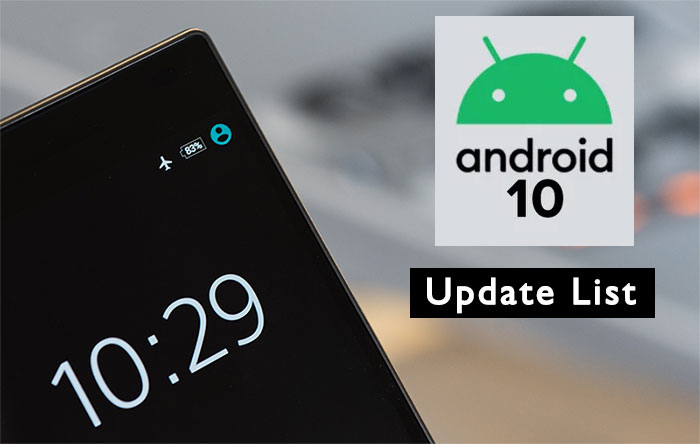 Smartphones-Getting-Android-10-Update