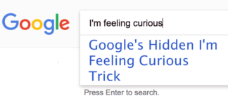 I'm-feeling-curious-google-trick