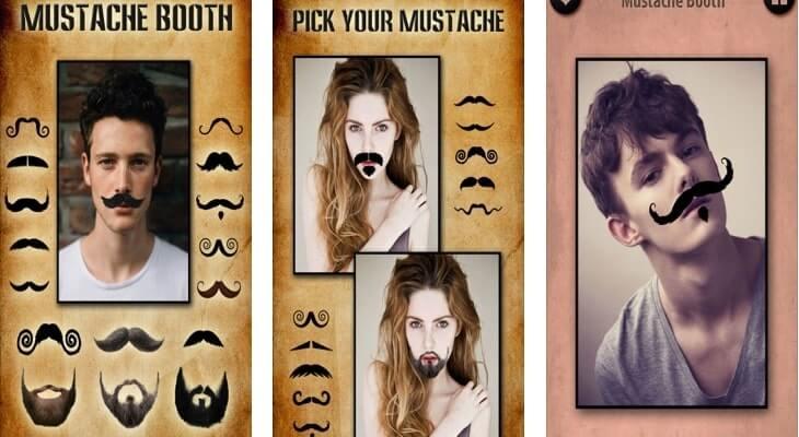 Mustache Booth – Grow A Beard