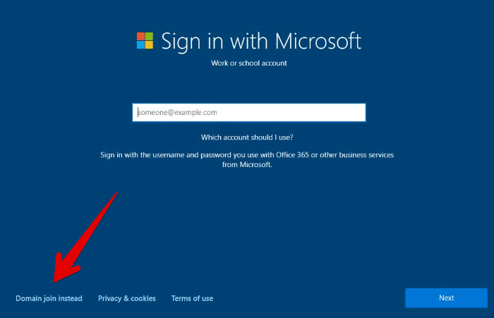 Use-Offline-Account-in-Windows-10