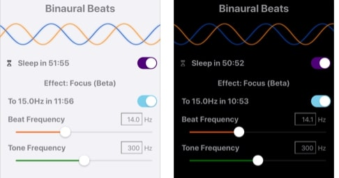 Binaural Beats App for iPhone
