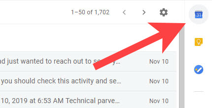 Calendar-option-in-gmail