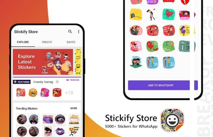 Stickify 5000+ Stickers for WhatsApp