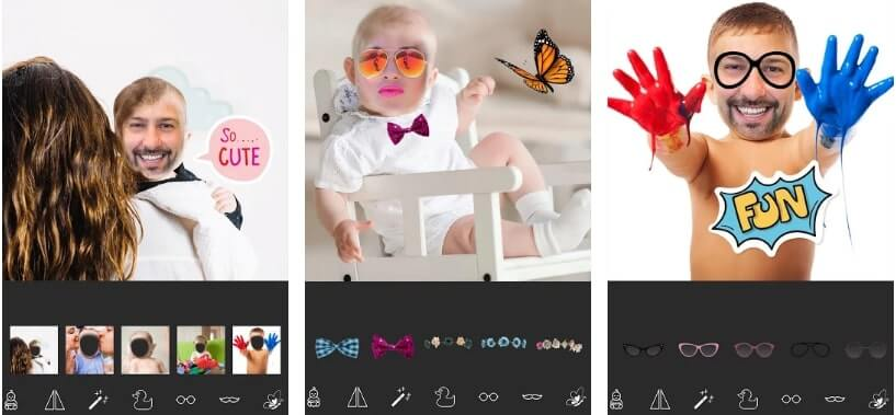 Baby Funny Face Camera