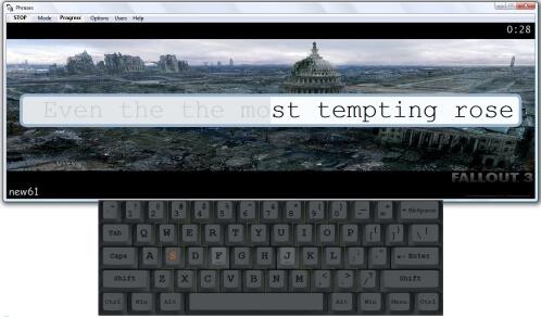 Stamina-typing-tutor