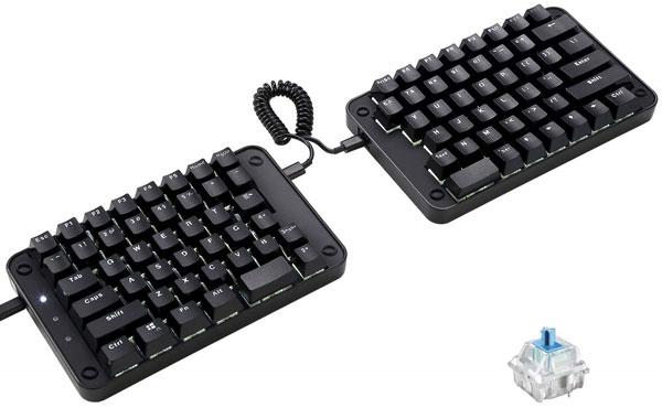 Koolertron-Programmable-Split-Mechanical-Keyboard