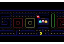 Google Doodles' Pac Man