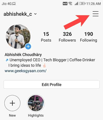 instagram-settings