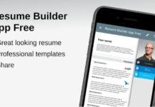 Resume Builder App Free
