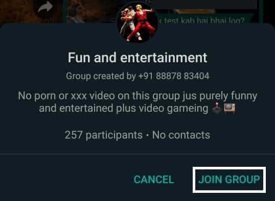 join_whatsapp_group by link