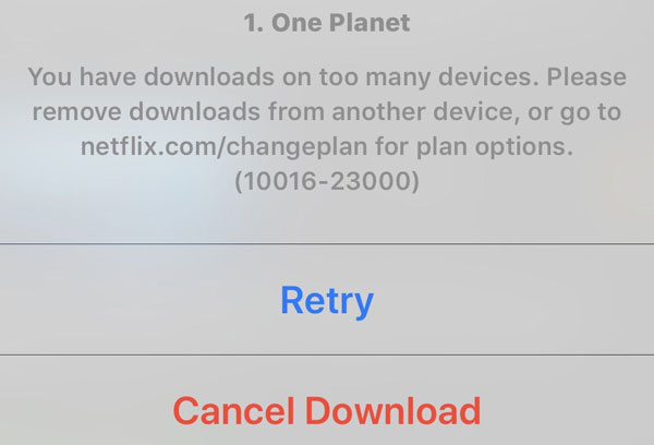 Fix-Netflix-Download-Limit