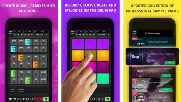 Cool beat making apps