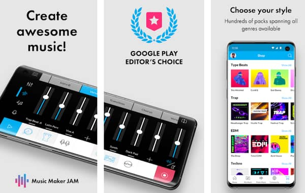 beat making app for Android