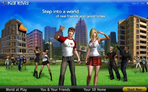 online games like Second Life