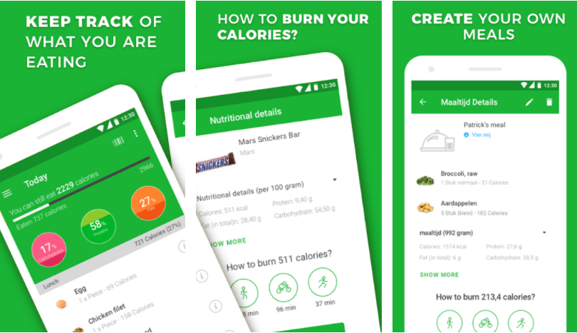 apps to help you gain weight free