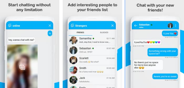 anonymous chat app