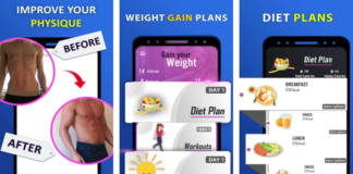 weight gain app download