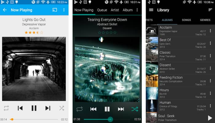 Android Music Players with Lyrics Support 11