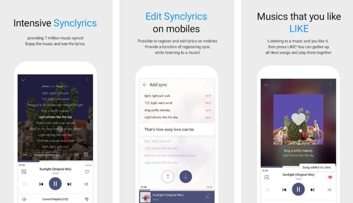 android music player with lyrics offline2