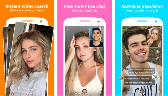 best random video chat apps 4