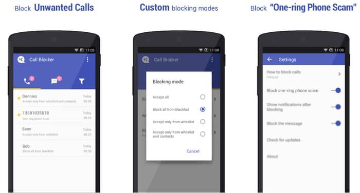 Call Blocker Free – Blacklist