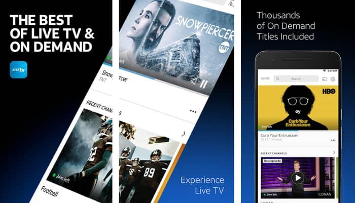 AT&T TV App