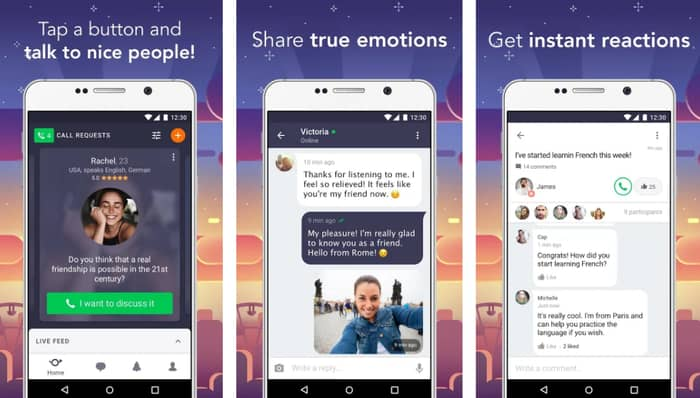 Wakie Chat - anonymous chat apps ios