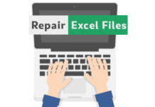 repair excel files