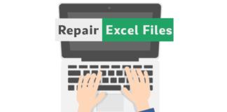 repair excel files