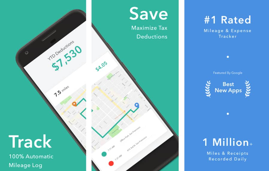free mileage tracking apps