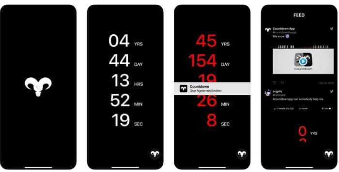 Countdown Apps For iPhone
